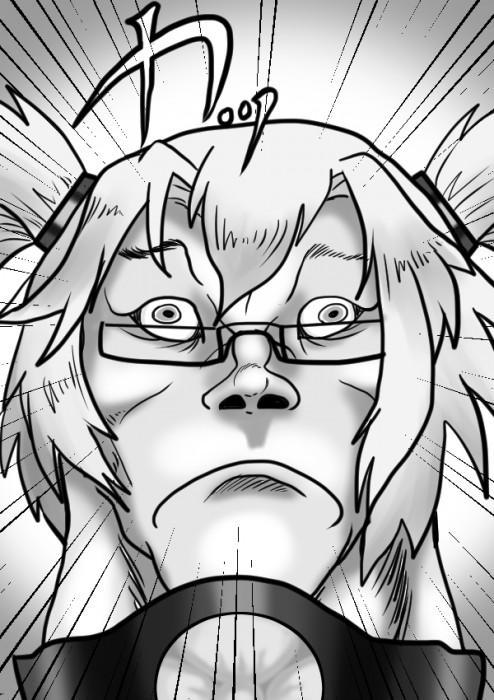 二次 エロ 萌え ゲーム 艦隊これくしょん 艦これ 擬人化 武蔵 巨乳 褐色 眼鏡 ニーソ 薄い金髪 ツインテール おっぱいのついたイケメン 二次エロ画像 musashikancolle10020161102100