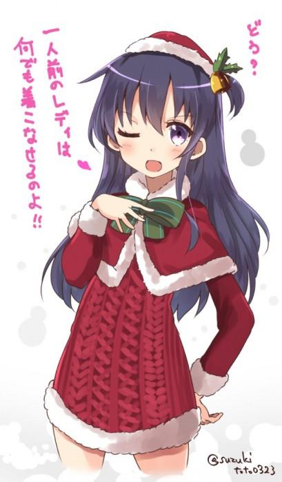 二次 萌え エロ フェチ コスプレ クリスマス 冬 サンタクロース サンタさん 二次エロ画像 santa10020161201038