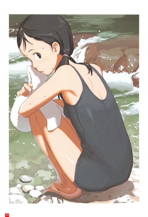 二次 エロ 萌え フェチ 水着 スク水 白スク フリル付きスクール水着 フリスク スクール水着 旧タイプ 学校指定水着 二次エロ画像 sukumizu2016113037