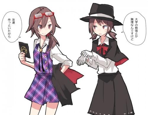 二次 微エロ 萌え フェチ コスプレ 普段とは違う服装 衣装チェンジ 二次非エロ画像 cosplay10020161229071