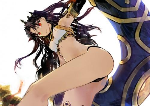 二次 萌え 非エロ アニメ ゲーム ビジュアルノベル Fate Grand Order イシュタル 金星の女神 ツーサイドアップ 黒髪 あかいあくま 二次微エロ画像 ishtarfatego2016122203