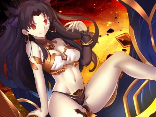 二次 萌え 非エロ アニメ ゲーム ビジュアルノベル Fate Grand Order イシュタル 金星の女神 ツーサイドアップ 黒髪 あかいあくま 二次微エロ画像 ishtarfatego2016122234