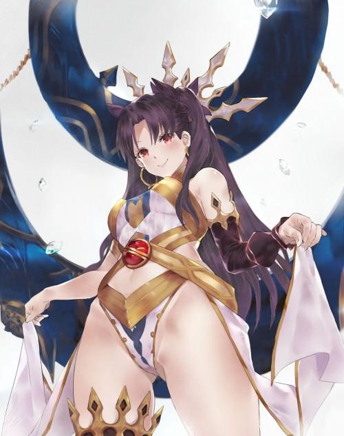 二次 萌え 非エロ アニメ ゲーム ビジュアルノベル Fate Grand Order イシュタル 金星の女神 ツーサイドアップ 黒髪 あかいあくま 二次微エロ画像 ishtarfatego2016122237