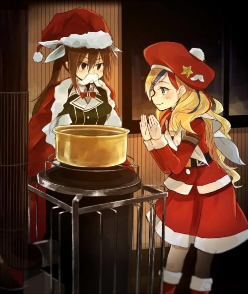 二次 萌え エロ フェチ コスプレ クリスマス 冬 サンタクロース サンタさん 二次エロ画像 santa10020161224005