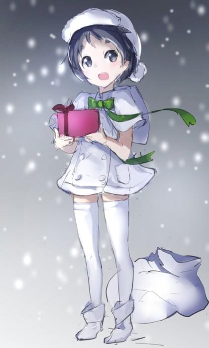 二次 萌え エロ フェチ コスプレ クリスマス 冬 サンタクロース サンタさん 二次エロ画像 santa10020161224026