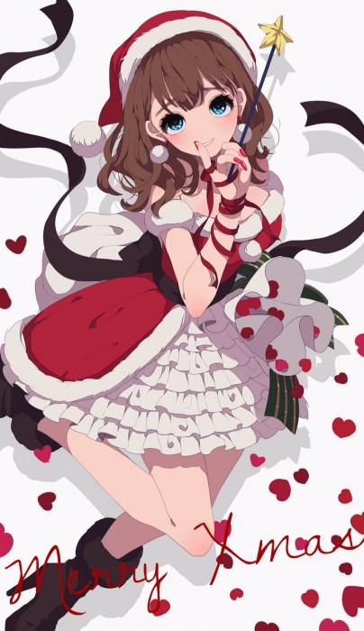 二次 萌え エロ フェチ コスプレ クリスマス 冬 サンタクロース サンタさん 二次エロ画像 santa10020161224099