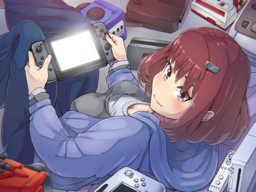 二次 非エロ 萌え フェチ ゲーム 娯楽 テレビゲーム 3DS PSP プレステ ファミコン コントローラー VR 二次非エロ画像 game2017011936