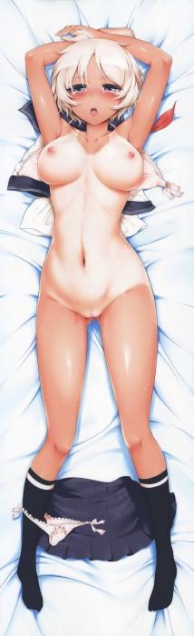 二次 エロ 萌え フェチ 褐色 日焼け 水着 エルフ耳 人外 小麦色 小麦肌 ツヤツヤ テカテカ おっぱい お尻 太もも 質感 光沢 肉感 二次エロ画像 hiyakekasshoku2017011141