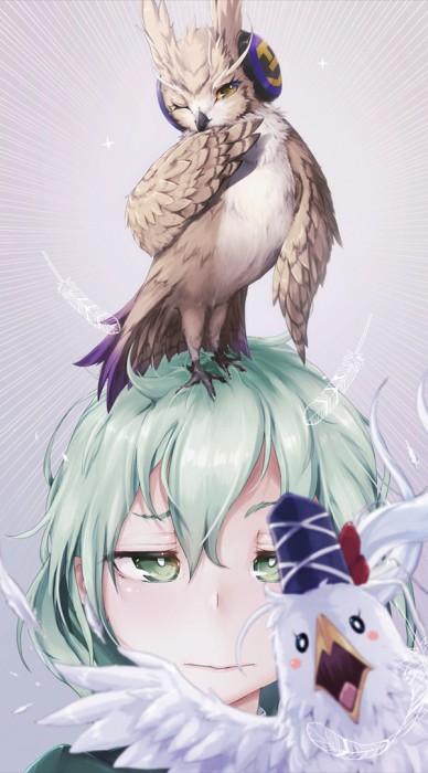 二次 非エロ 萌え フェチ お正月 酉年 鶏 ヒヨコ 振袖 着物 和服 二次非エロ画像 niwatori10020170105003