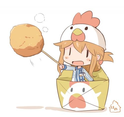 二次 非エロ 萌え フェチ お正月 酉年 鶏 ヒヨコ 振袖 着物 和服 二次非エロ画像 niwatori10020170105020