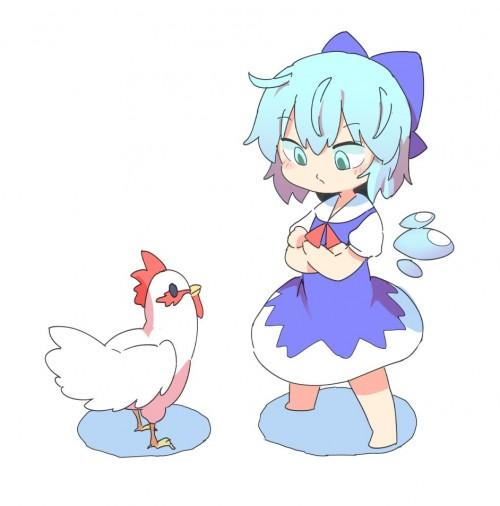 二次 非エロ 萌え フェチ お正月 酉年 鶏 ヒヨコ 振袖 着物 和服 二次非エロ画像 niwatori10020170105094