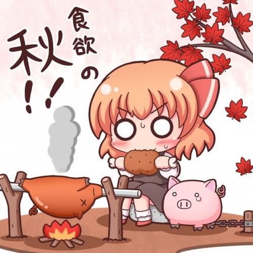 二次 萌え フェチ 食べ物 非エロ 肉 焼肉 焼き鳥 ハンバーグ ハンバーガー すき焼き 食べてる 食事風景 飯テロ トンカツ ソーセージ しゃぶしゃぶ 二次非エロ画像 niku10020170209044