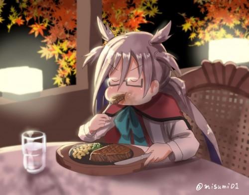 二次 萌え フェチ 食べ物 非エロ 肉 焼肉 焼き鳥 ハンバーグ ハンバーガー すき焼き 食べてる 食事風景 飯テロ トンカツ ソーセージ しゃぶしゃぶ 二次非エロ画像 niku10020170209056