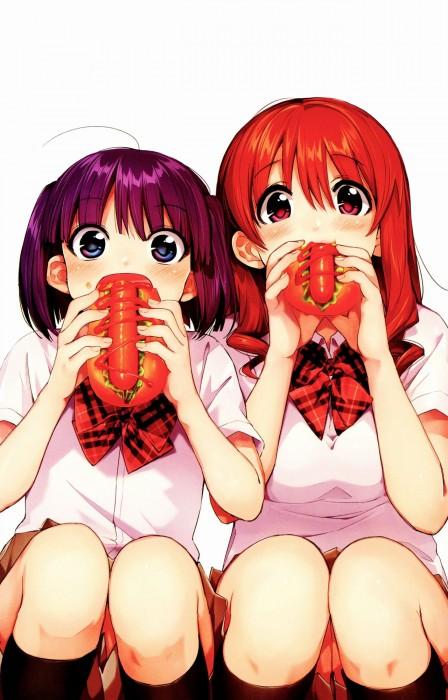 二次 萌え フェチ 食べ物 非エロ 肉 焼肉 焼き鳥 ハンバーグ ハンバーガー すき焼き 食べてる 食事風景 飯テロ トンカツ ソーセージ しゃぶしゃぶ 二次非エロ画像 niku10020170209079