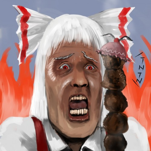 二次 萌え フェチ 食べ物 非エロ 肉 焼肉 焼き鳥 ハンバーグ ハンバーガー すき焼き 食べてる 食事風景 飯テロ トンカツ ソーセージ しゃぶしゃぶ 二次非エロ画像 niku10020170209100