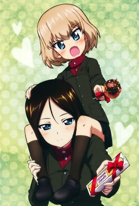 二次 非エロ 萌え フェチ バレンタイン チョコレート 裸リボン プレゼント 裸チョコ 赤面 照れてる 恥ずかしがってる 表情 二次微エロ画像 valentine10020170216049