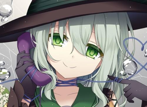 二次 エロ 萌え ゲーム 東方project 古明地こいし 緑髪 帽子 無意識を操る程度の能力 灰色の髪 グリコ 妹 二次エロ画像 komeijikoishi10020170503022