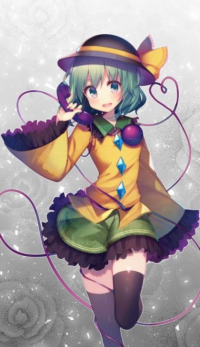 二次 エロ 萌え ゲーム 東方project 古明地こいし 緑髪 帽子 無意識を操る程度の能力 灰色の髪 グリコ 妹 二次エロ画像 komeijikoishi10020170503094