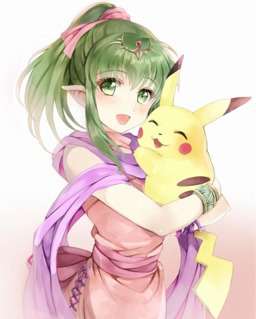 二次 エロ 萌え フェチ 緑髪 髪型 青緑 深緑 緑 黄緑 不人気 二次エロ画像 midorigami10020170504027