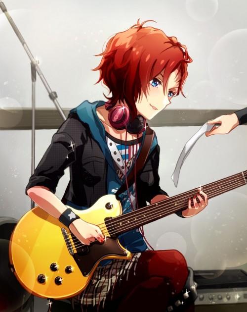 二次 非エロ 萌え 楽器 ヘッドフォン ギター 二次非エロ画像 guitar10020170609008