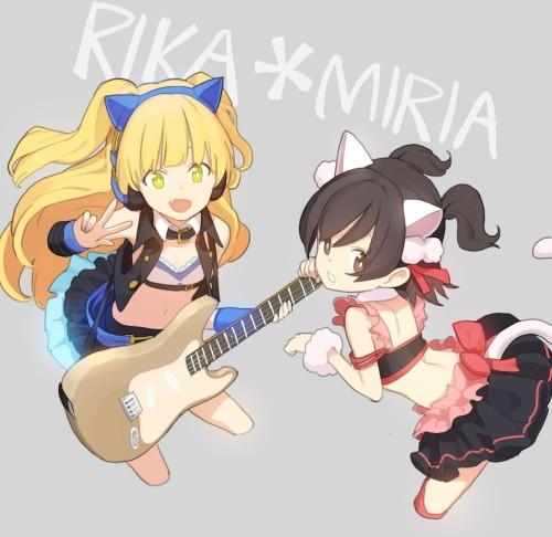 二次 非エロ 萌え 楽器 ヘッドフォン ギター 二次非エロ画像 guitar10020170609039