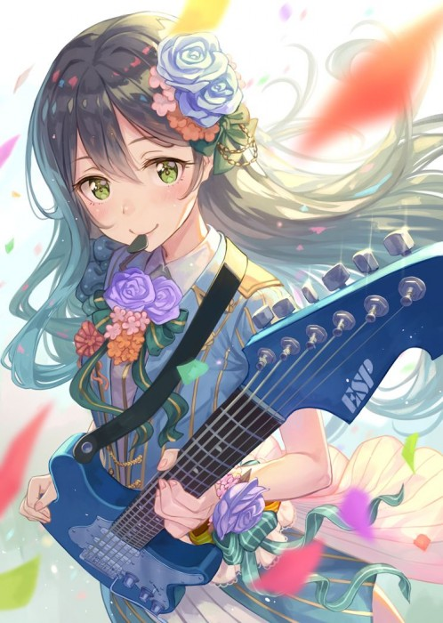 二次 非エロ 萌え 楽器 ヘッドフォン ギター 二次非エロ画像 guitar10020170609041