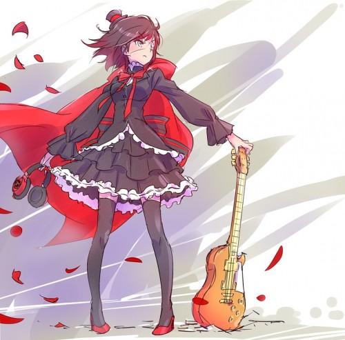 二次 非エロ 萌え 楽器 ヘッドフォン ギター 二次非エロ画像 guitar10020170609053