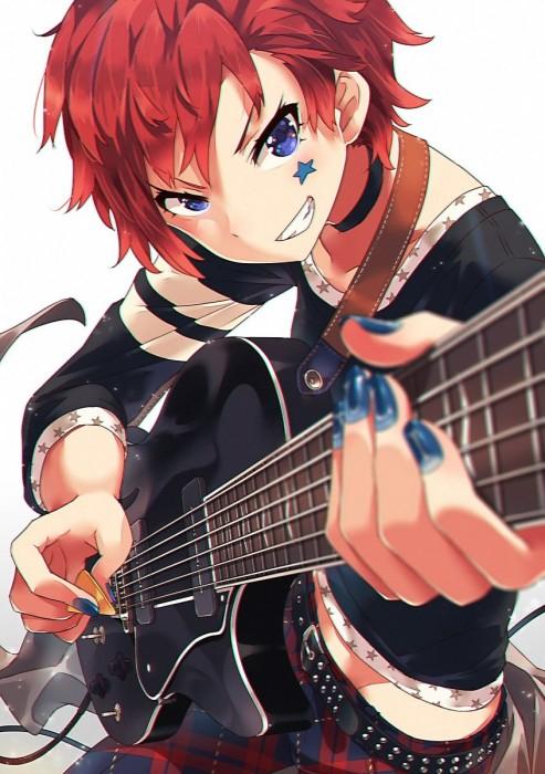 二次 非エロ 萌え 楽器 ヘッドフォン ギター 二次非エロ画像 guitar10020170609055