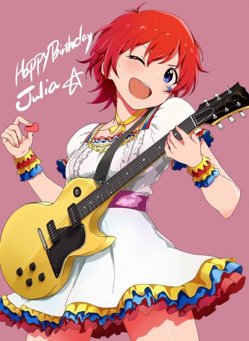 二次 非エロ 萌え 楽器 ヘッドフォン ギター 二次非エロ画像 guitar10020170609060