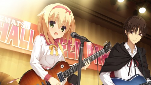二次 非エロ 萌え 楽器 ヘッドフォン ギター 二次非エロ画像 guitar10020170609078
