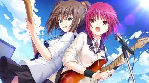 二次 非エロ 萌え 楽器 ヘッドフォン ギター 二次非エロ画像 guitar10020170609095