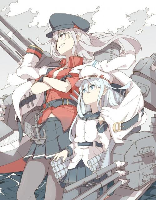 二次 エロ 萌え ゲーム 艦隊これくしょん 艦これ 暁型四姉妹 クール ロシア ヴェールヌイ 銀髪・白髪 青髪 帽子 キャップ セーラー服 駆逐艦 吹雪型 ハラショーマシン 二次エロ画像 hibikikancolle10020170619053
