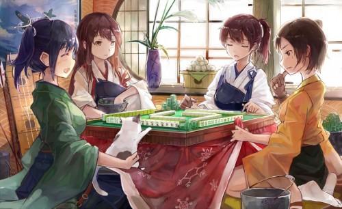 二次 非エロ 萌え フェチ 麻雀 タンヤオ 咲 ネタ 二次非エロ画像 mahjong10020170801021