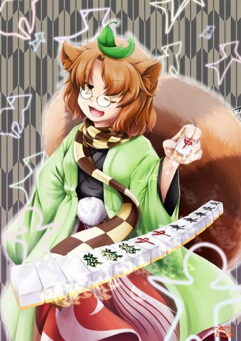 二次 非エロ 萌え フェチ 麻雀 タンヤオ 咲 ネタ 二次非エロ画像 mahjong10020170801079
