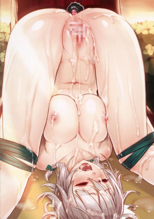 二次 エロ 萌え フェチ まんぐり返し マンコ セックス 正常位 赤面 恥ずかし固め お尻 太もも ぷっくり 恥丘 ビーナスの丘 寝そべり 二次エロ画像 mangurigaeshi2017072743