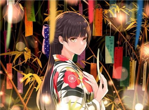 二次 萌え エロ フェチ 和服 着物 浴衣 はだけた 花火 脱衣 季節 夏 お祭り 二次エロ画像 yukata10020170721001
