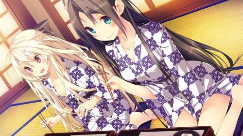 二次 萌え エロ フェチ 和服 着物 浴衣 はだけた 花火 脱衣 季節 夏 お祭り 二次エロ画像 yukata10020170721052