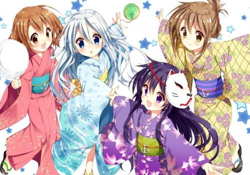 二次 萌え エロ フェチ 和服 着物 浴衣 はだけた 花火 脱衣 季節 夏 お祭り 二次エロ画像 yukata10020170721076