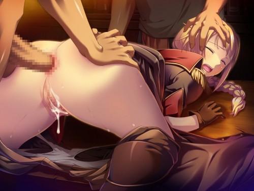 二次 エロ 萌え フェチ お尻 掴んでいる 鷲掴み 肛門 アナルくぱぁ 誘惑 事後 中出し 二次エロ画像 oshiritsukami2017081020
