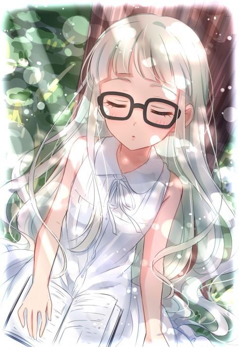 二次 エロ 萌え フェチ メガネ めがね 眼鏡 眼鏡っ娘 二次エロ画像 megane2017092148