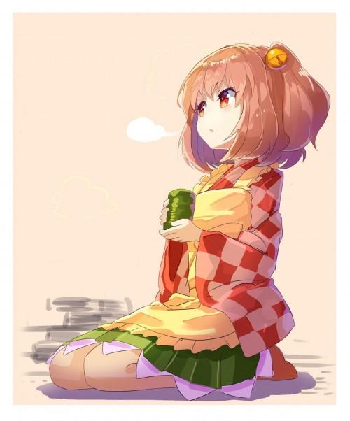 二次 非エロ 萌え お茶 日本茶 湯のみ 緑茶 食事風景 クッキー☆ ぷはーRIM 二次非エロ画像 ocha10020171031084