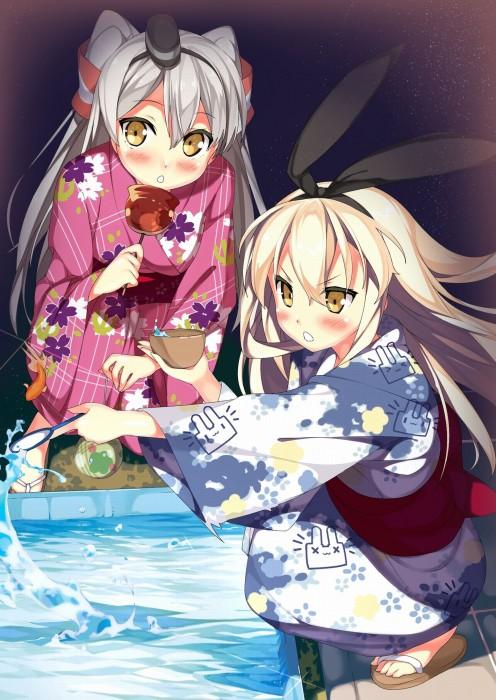 二次 萌え エロ フェチ 和服 着物 浴衣 はだけた 花火 脱衣 季節 夏 お祭り 二次エロ画像 yukata10020171016027