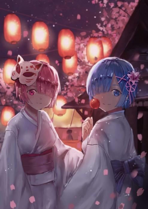 二次 萌え エロ フェチ 和服 着物 浴衣 はだけた 花火 脱衣 季節 夏 お祭り 二次エロ画像 yukata10020171016034