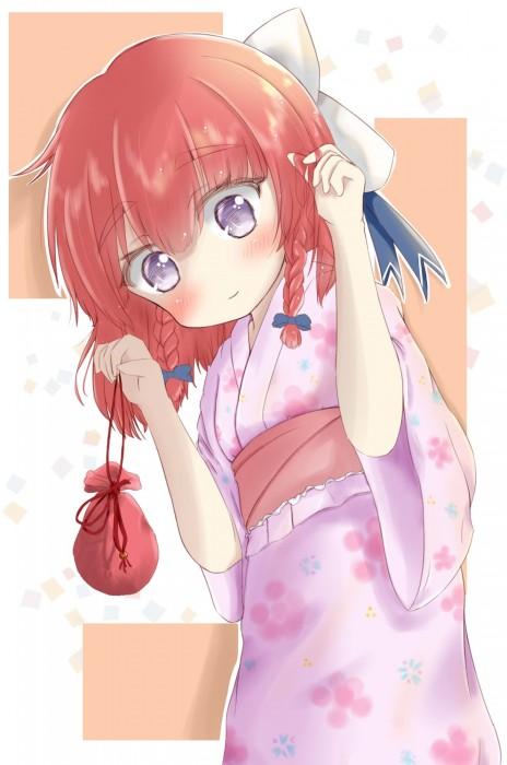 二次 萌え エロ フェチ 和服 着物 浴衣 はだけた 花火 脱衣 季節 夏 お祭り 二次エロ画像 yukata10020171016051