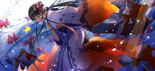 二次 萌え エロ フェチ 和服 着物 浴衣 はだけた 花火 脱衣 季節 夏 お祭り 二次エロ画像 yukata10020171016079