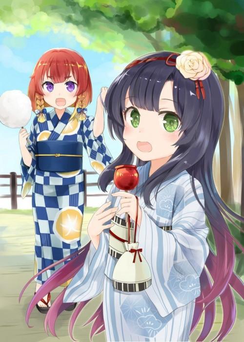 二次 萌え エロ フェチ 和服 着物 浴衣 はだけた 花火 脱衣 季節 夏 お祭り 二次エロ画像 yukata10020171016084