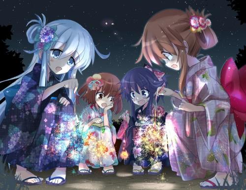 二次 萌え エロ フェチ 和服 着物 浴衣 はだけた 花火 脱衣 季節 夏 お祭り 二次エロ画像 yukata10020171016088
