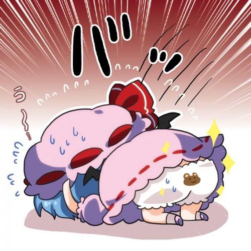 二次 エロ 萌え フェチ くまさんパンツ 動物柄パンツ 二次エロ画像 kumasanpants2017120145