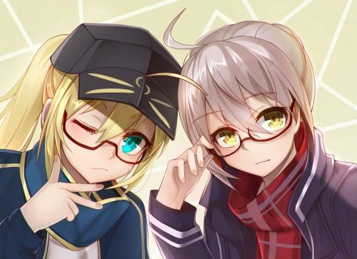 二次 非エロ 萌え フェチ メガネ めがね 眼鏡 眼鏡っ娘 二次微エロ画像 megane2017111726