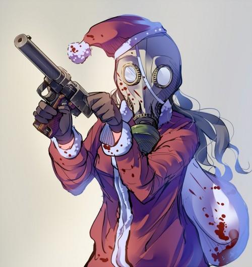 二次 萌え 非エロ フェチ コスプレ クリスマス 冬 サンタクロース サンタさん トナカイ 二次非エロ画像 christmas10020171225023